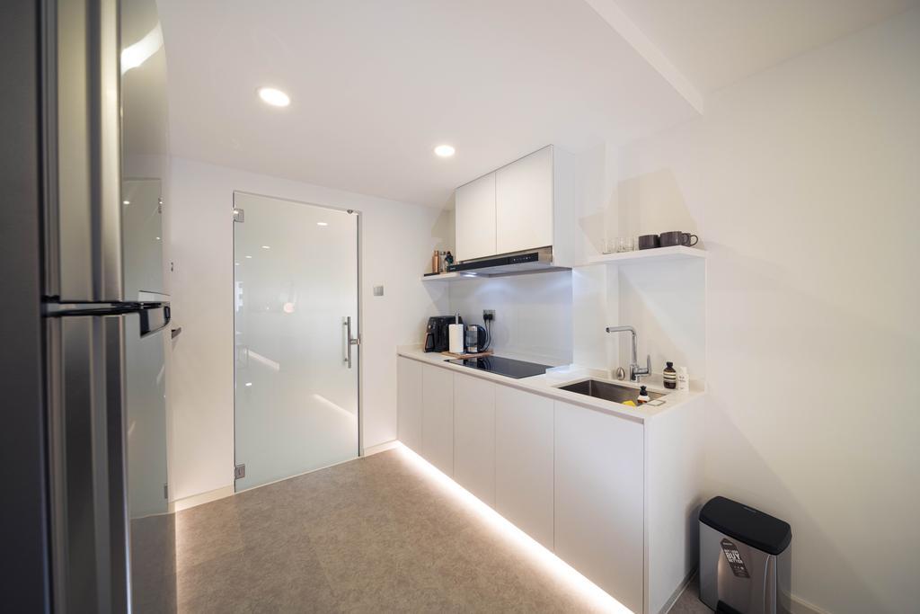 Minimalistic, HDB, Kitchen, Ghim Moh Link, Interior Designer, Livinci Interior