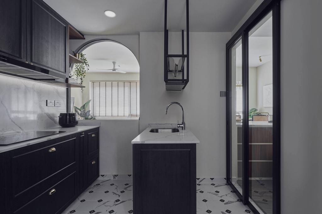 Modern, Condo, Kitchen, Country Esquire, Interior Designer, Charlotte's Carpentry, Contemporary