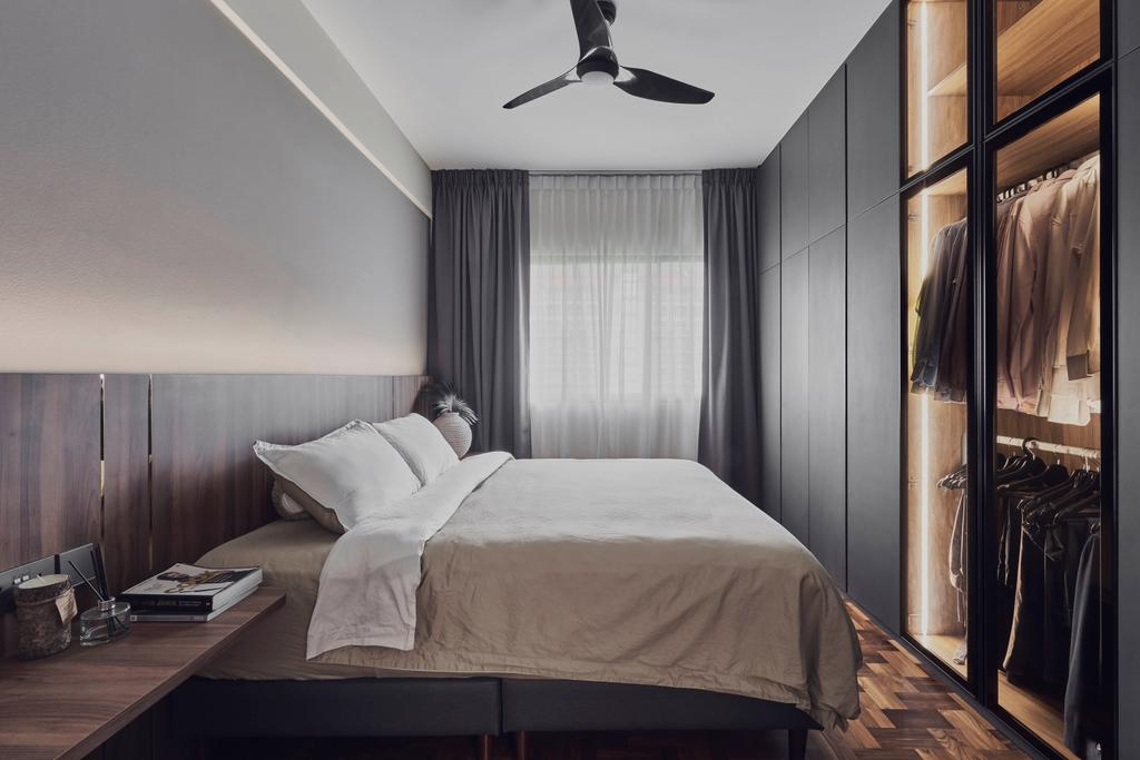 Modern, Condo, Bedroom, Country Esquire, Interior Designer, Charlotte's Carpentry, Contemporary