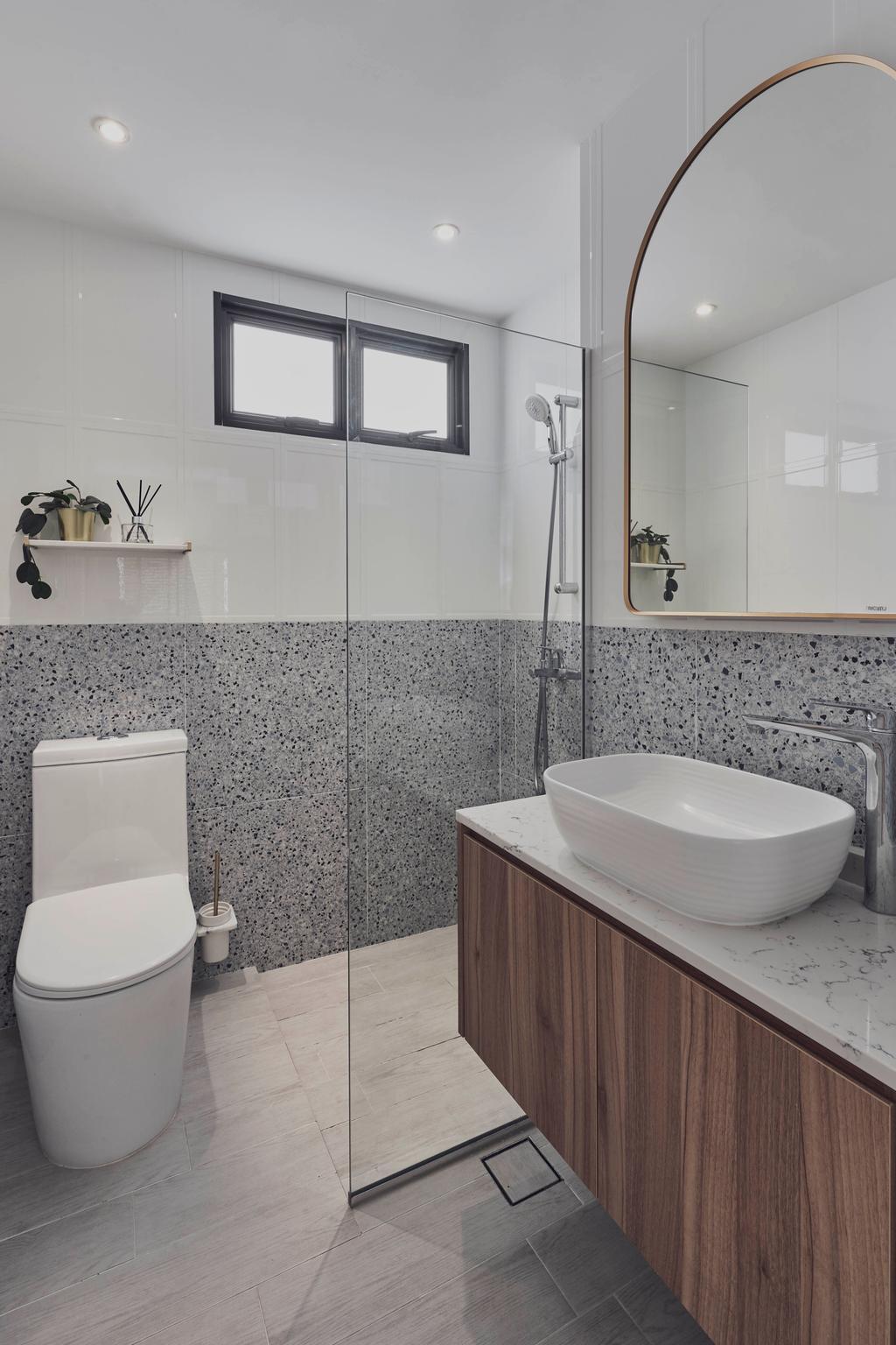 Modern, Condo, Bathroom, Country Esquire, Interior Designer, Charlotte's Carpentry, Contemporary