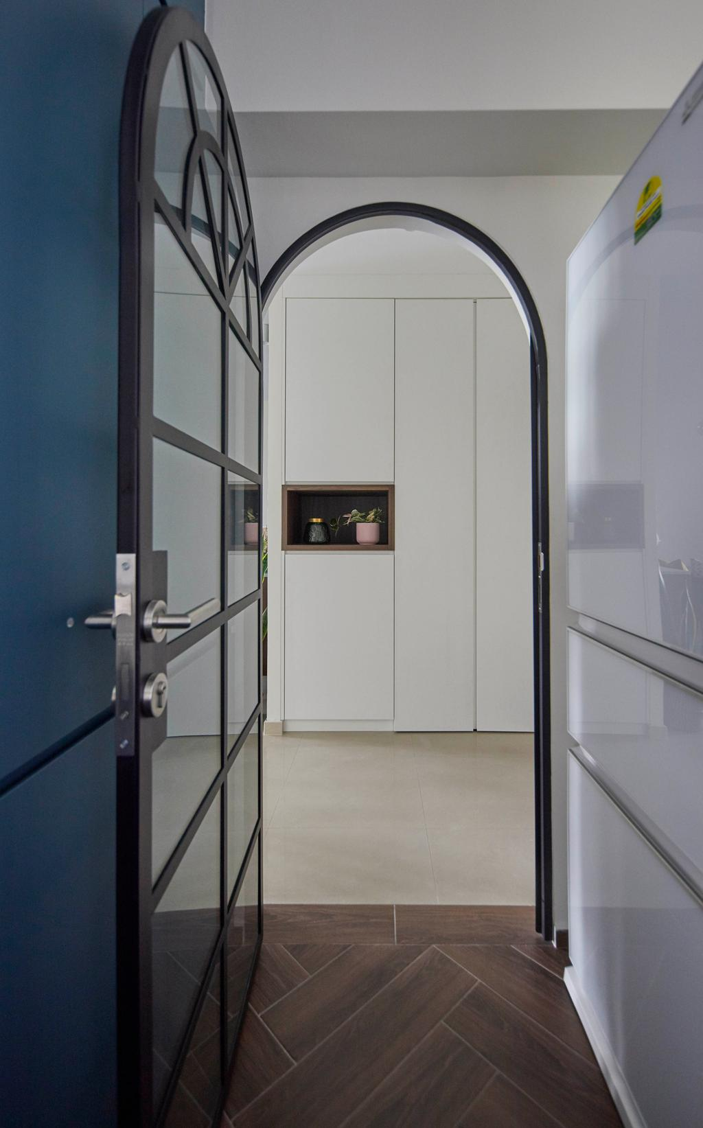 Contemporary, HDB, Kitchen, Tanglin Halt, Interior Designer, i-Chapter