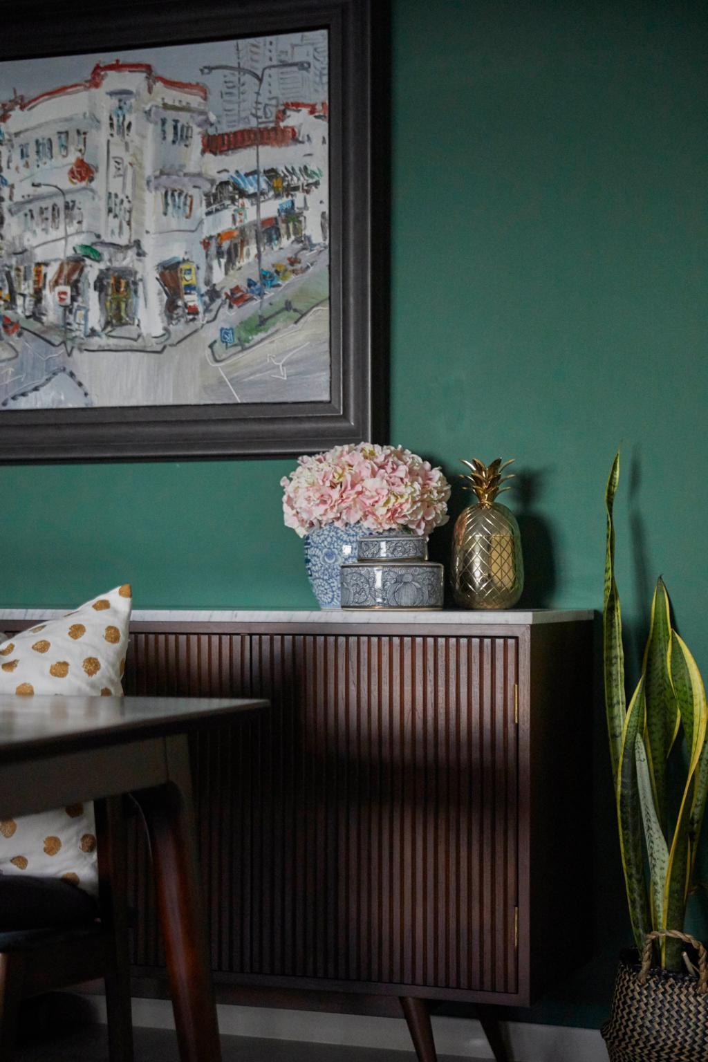 Contemporary, HDB, Dining Room, Tanglin Halt, Interior Designer, i-Chapter