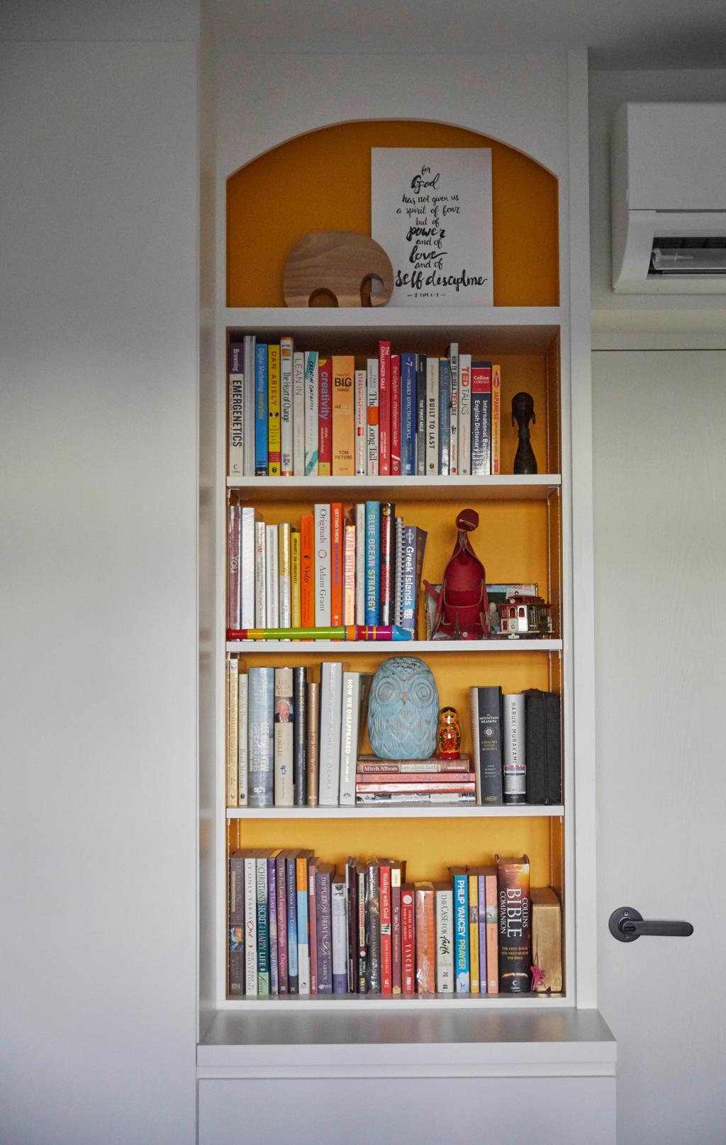 Contemporary, HDB, Study, Tanglin Halt, Interior Designer, i-Chapter