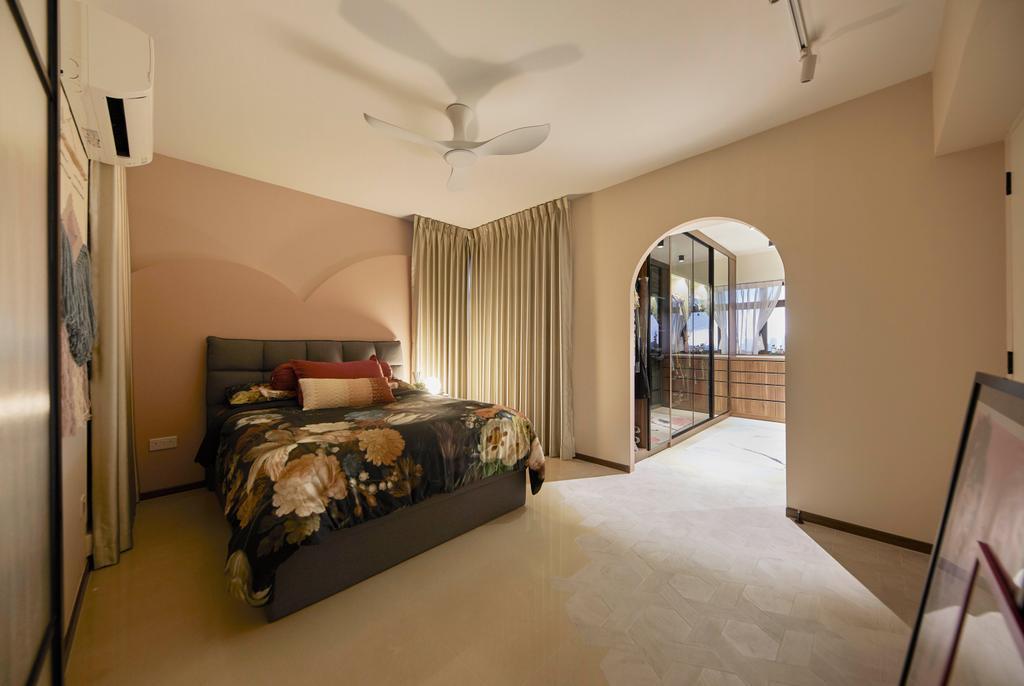 Contemporary, HDB, Bedroom, Tanglin Halt, Interior Designer, i-Chapter