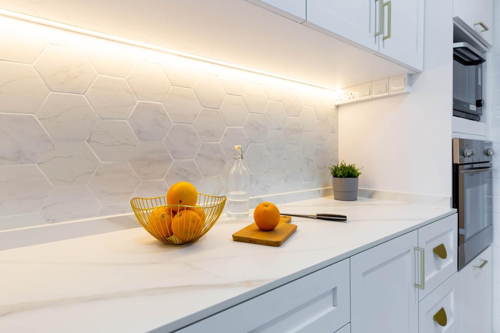 Contemporary, HDB, Kitchen, Toh Guan Road, Interior Designer, Yang's Inspiration Design