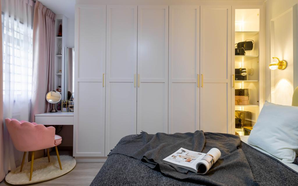 Contemporary, HDB, Bedroom, Toh Guan Road, Interior Designer, Yang's Inspiration Design