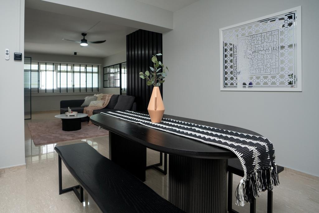 Contemporary, HDB, Dining Room, Pasir Ris Street 71, Interior Designer, ChengYi Interior Design