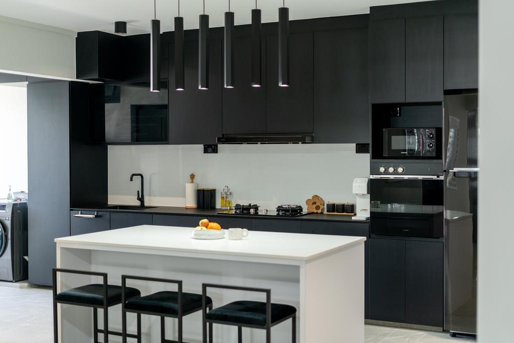 Contemporary, HDB, Kitchen, Pasir Ris Street 71, Interior Designer, ChengYi Interior Design
