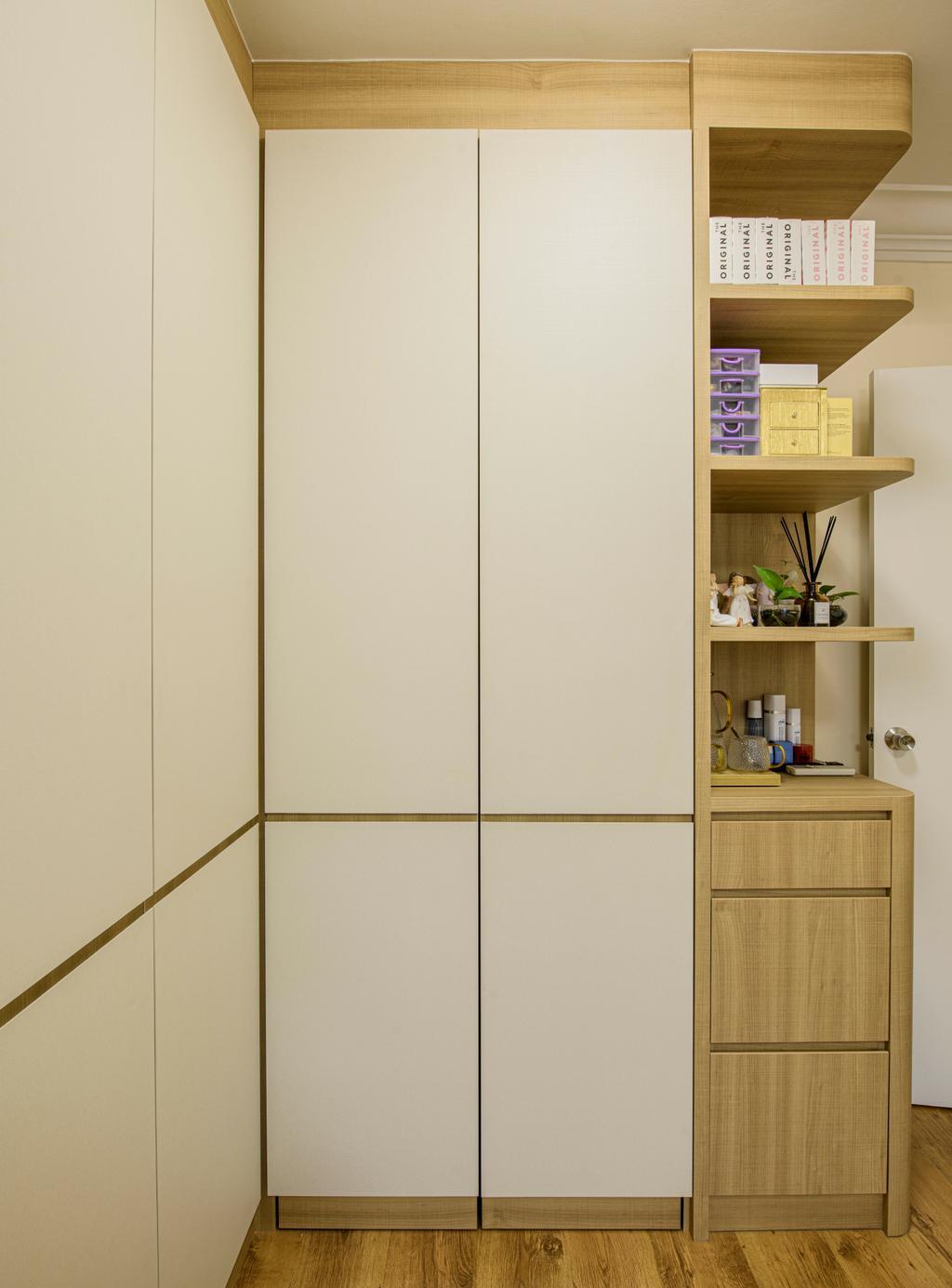 Modern, HDB, Bedroom, Woodlands Drive 14, Interior Designer, T&T Design Artisan