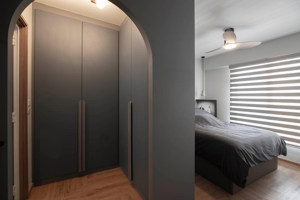 Contemporary, HDB, Bedroom, Northshore Drive, Interior Designer, Mr Designer Studio