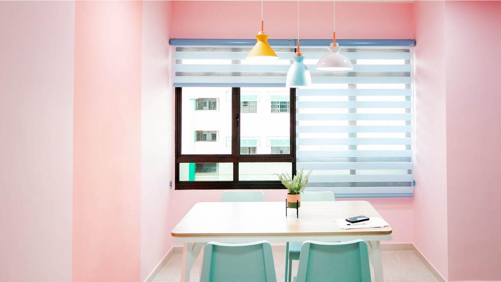 Modern, HDB, Dining Room, Sembawang Drive, Interior Designer, Ethan Interiors