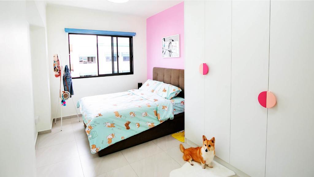 Modern, HDB, Bedroom, Sembawang Drive, Interior Designer, Ethan Interiors