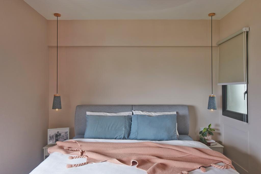 Modern, HDB, Bedroom, Ang Mo Kio, Interior Designer, Fuse Concept, Contemporary