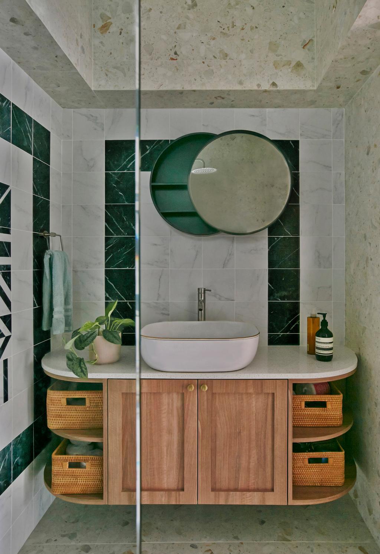 Modern, HDB, Bathroom, Ang Mo Kio, Interior Designer, Fuse Concept, Contemporary