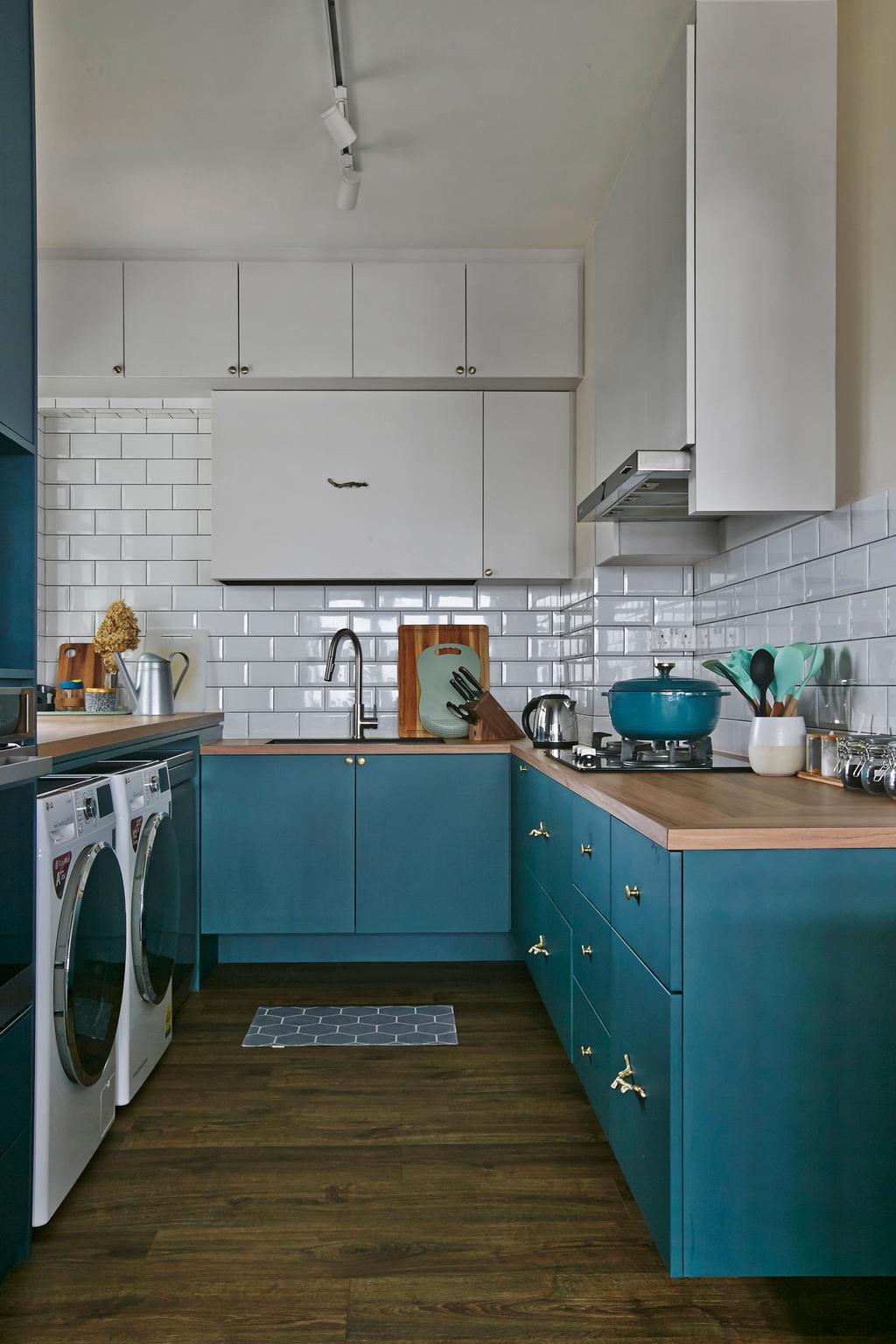 Modern, HDB, Kitchen, Ang Mo Kio, Interior Designer, Fuse Concept, Contemporary