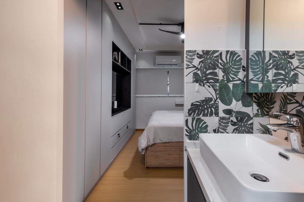 Contemporary, HDB, Bedroom, Marine Terrace, Interior Designer, The Design Practice