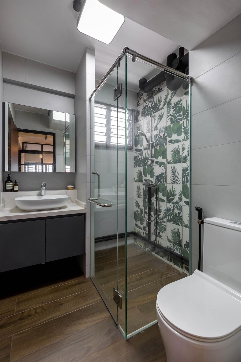 Contemporary, HDB, Bathroom, Marine Terrace, Interior Designer, The Design Practice