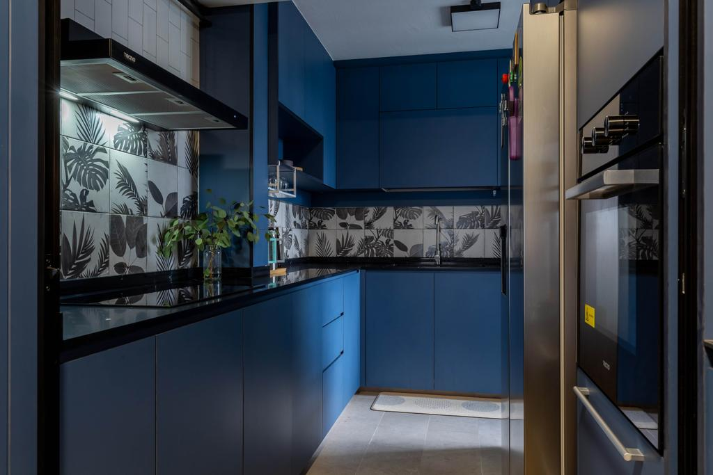 Contemporary, HDB, Kitchen, Marine Terrace, Interior Designer, The Design Practice
