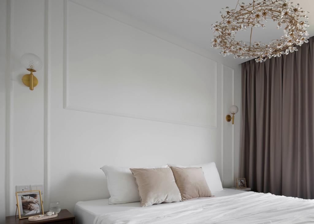 Modern, HDB, Bedroom, Tampines North Drive 1, Interior Designer, Fifth Avenue Interior, Scandinavian