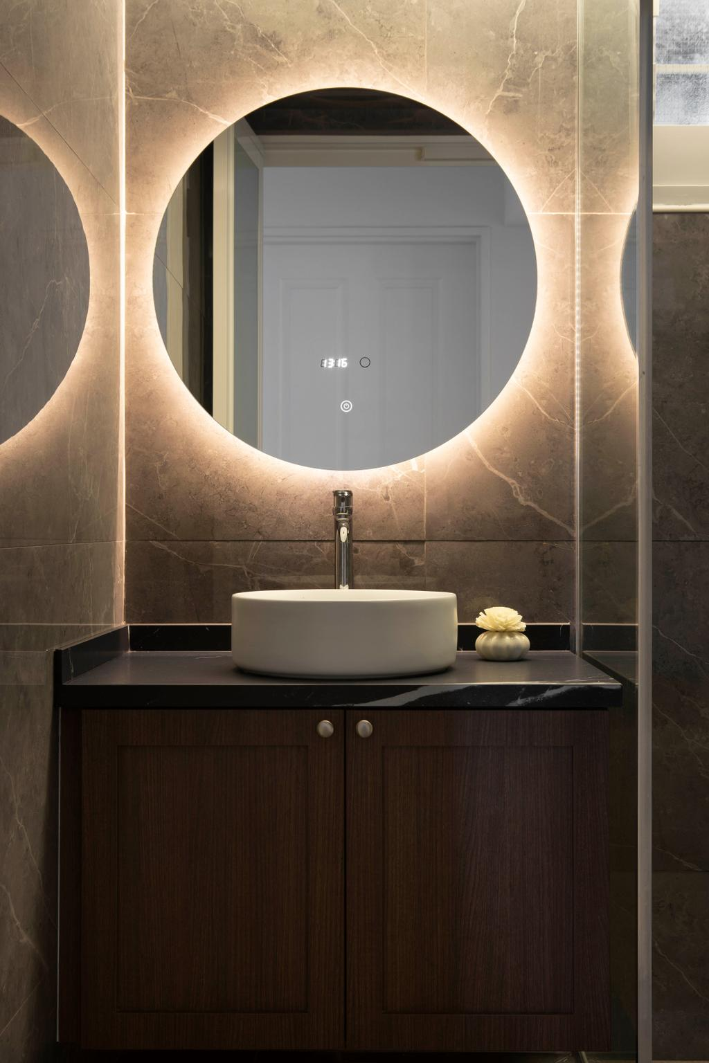 Modern, HDB, Bathroom, Tampines North Drive 1, Interior Designer, Fifth Avenue Interior, Scandinavian