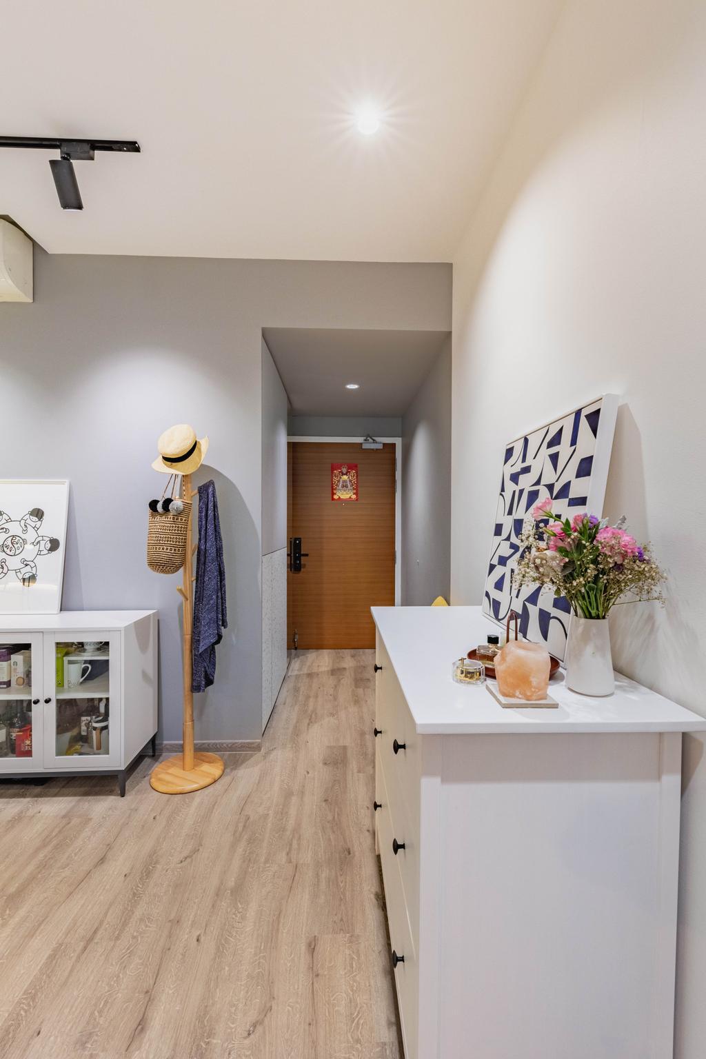 Modern, Condo, Living Room, Kerrisdale, Interior Designer, Livspace, Scandinavian