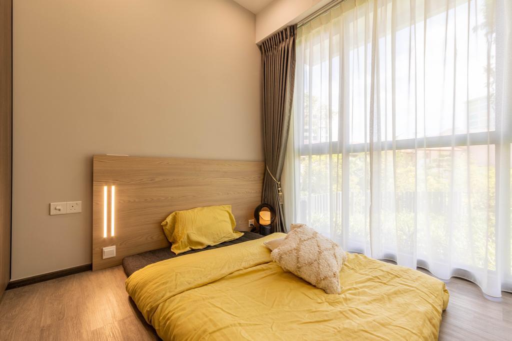 Modern, Condo, Bedroom, Forest Woods, Interior Designer, Livspace