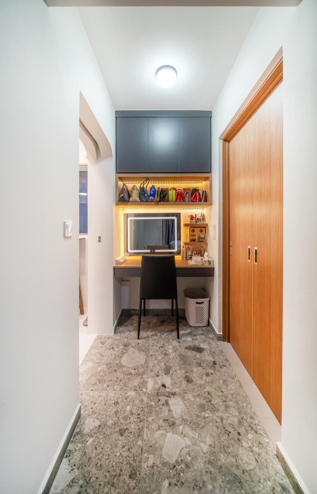 Contemporary, HDB, Bedroom, Bidadari Park Drive, Interior Designer, oddcreative