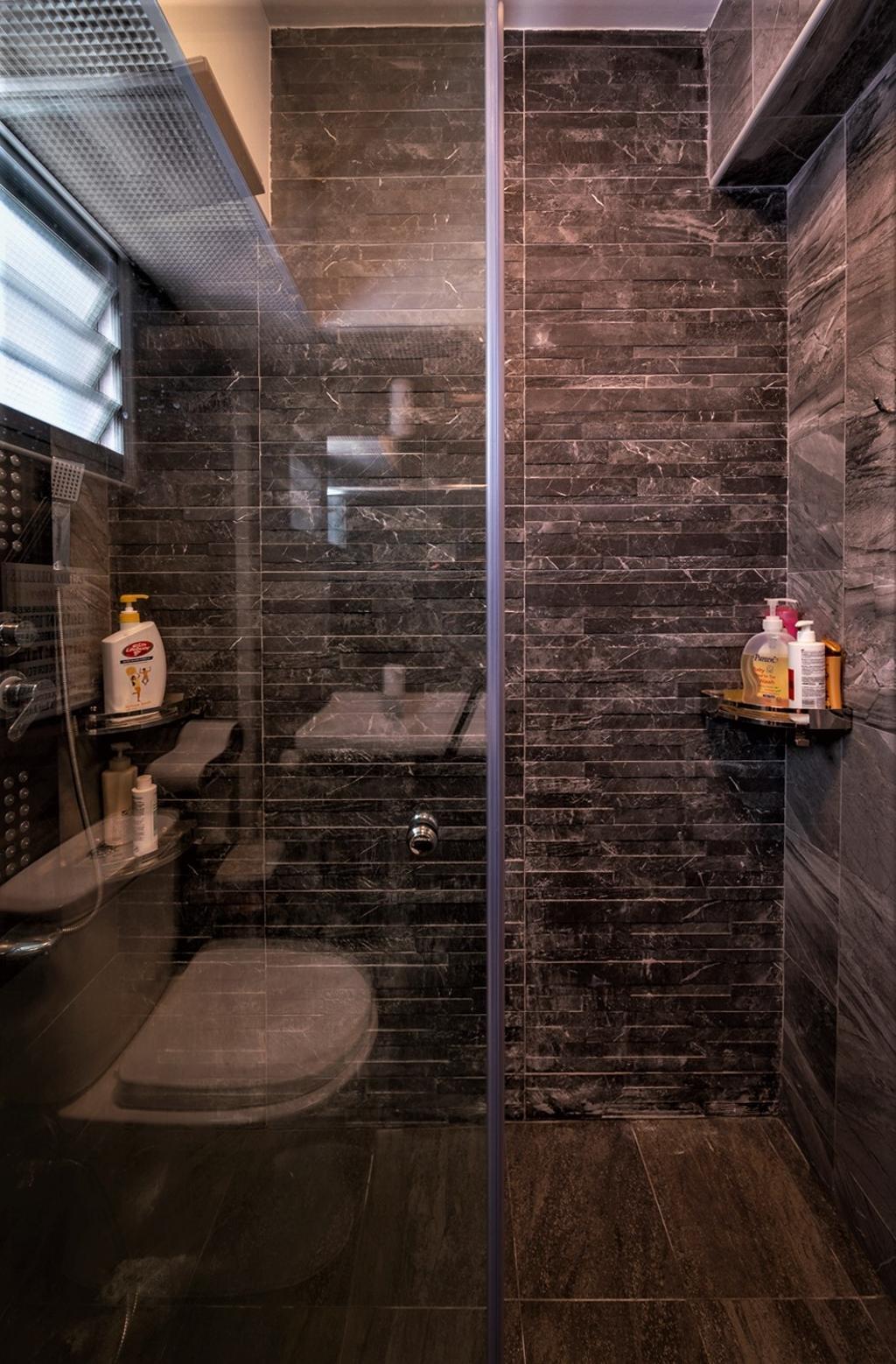 Modern, HDB, Bathroom, Yishun Street 51, Interior Designer, oddcreative