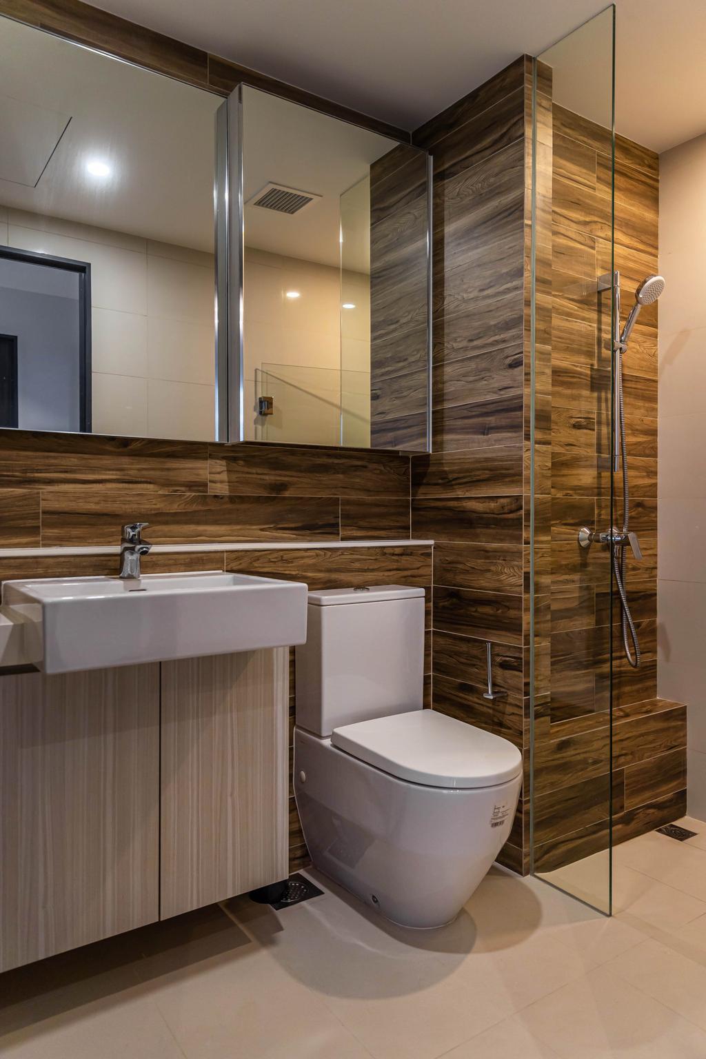 Contemporary, Condo, Bathroom, Gem Residences, Interior Designer, Swiss Interior Design