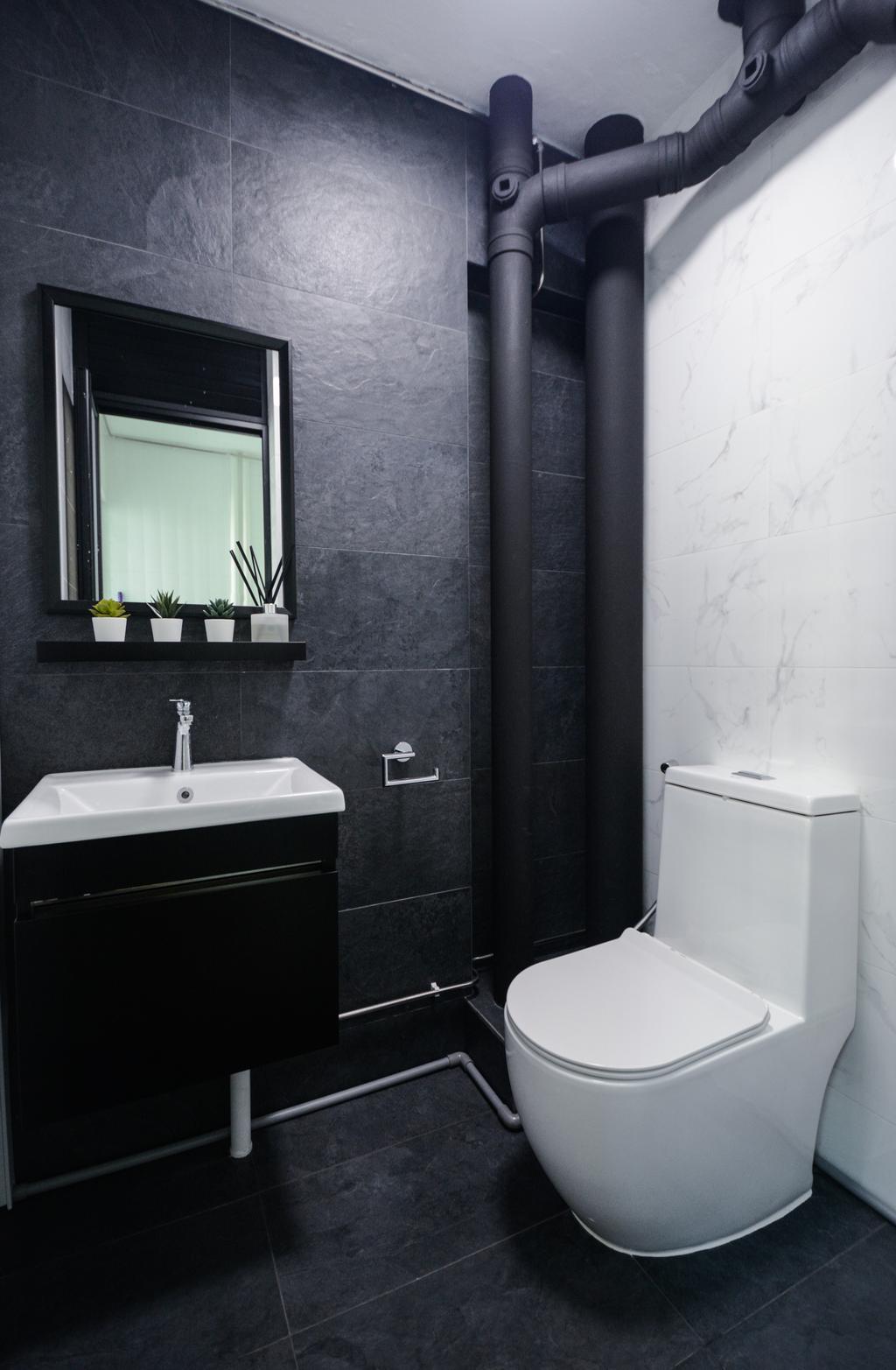 Contemporary, HDB, Bathroom, Bedok South Avenue 1, Interior Designer, The Roomakers