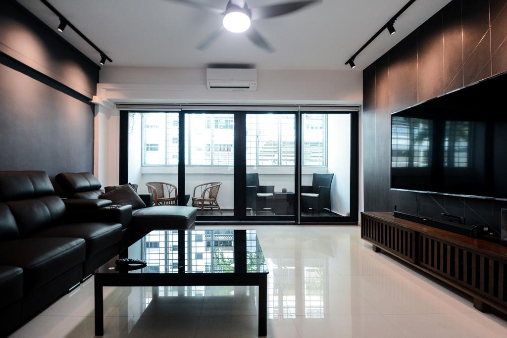 Contemporary, HDB, Living Room, Bedok South Avenue 3, Interior Designer, The Roomakers