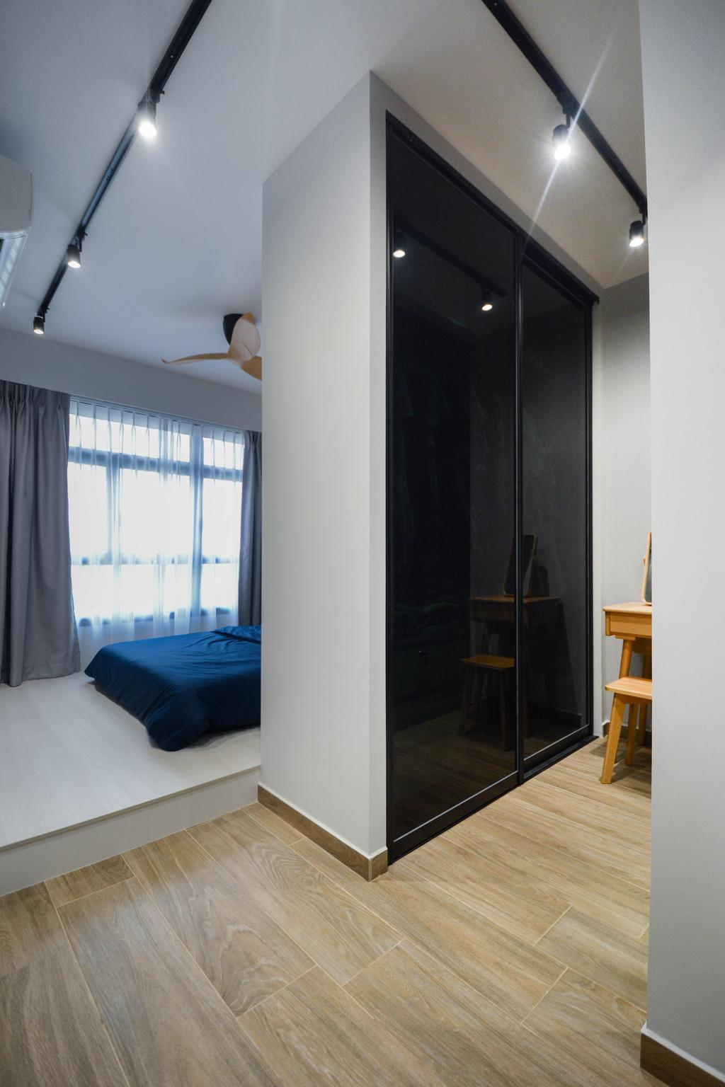 Modern, HDB, Bedroom, Tampines North Drive 1, Interior Designer, The Roomakers, Scandinavian