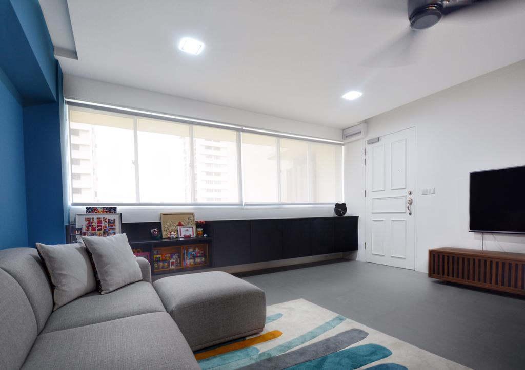 Scandinavian, HDB, Living Room, Lorong 7 Toa Payoh, Interior Designer, The Roomakers, Contemporary