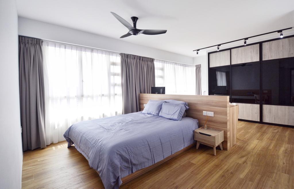 Modern, HDB, Bedroom, Bukit Batok, Interior Designer, The Roomakers, Scandinavian