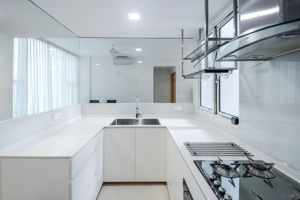 Modern, Condo, Kitchen, Parc Emily, Interior Designer, The Roomakers