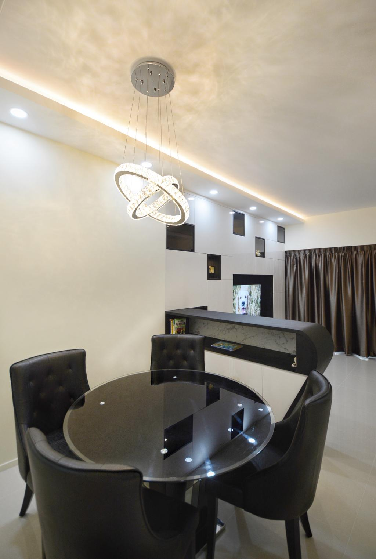 Modern, Condo, Dining Room, Upper Thomson, Interior Designer, The Roomakers