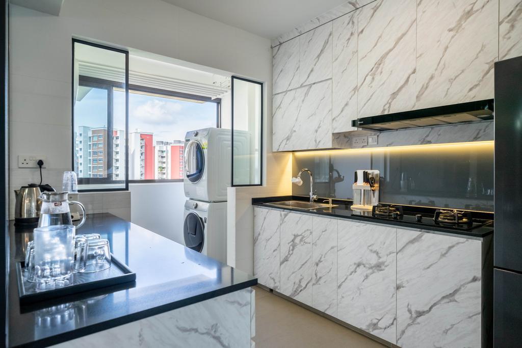 Modern, HDB, Kitchen, Bukit Batok West Avenue 8, Interior Designer, Design 4 Space