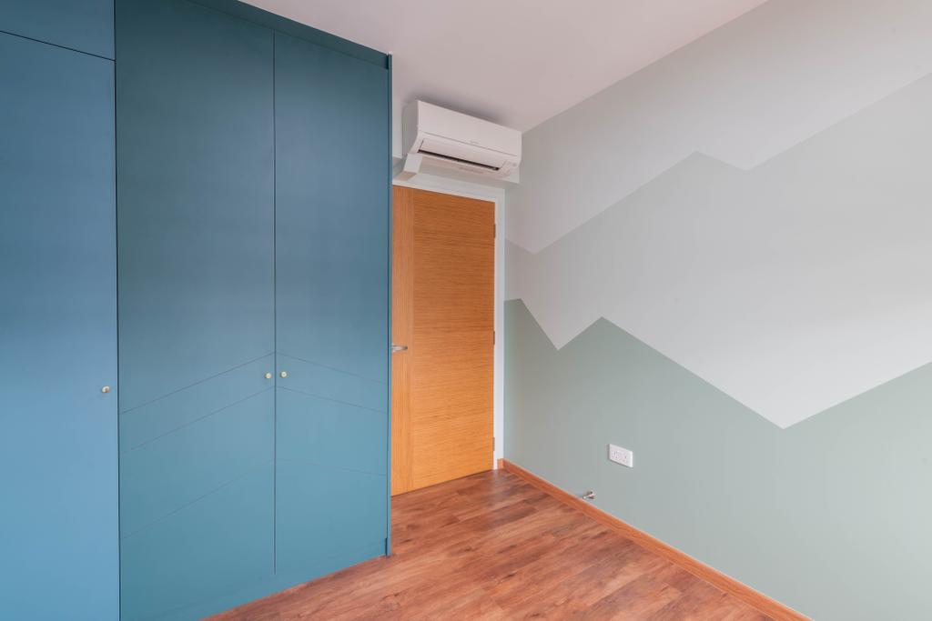 Modern, HDB, Bedroom, Sengkang West Road, Interior Designer, Metier Planner, Scandinavian
