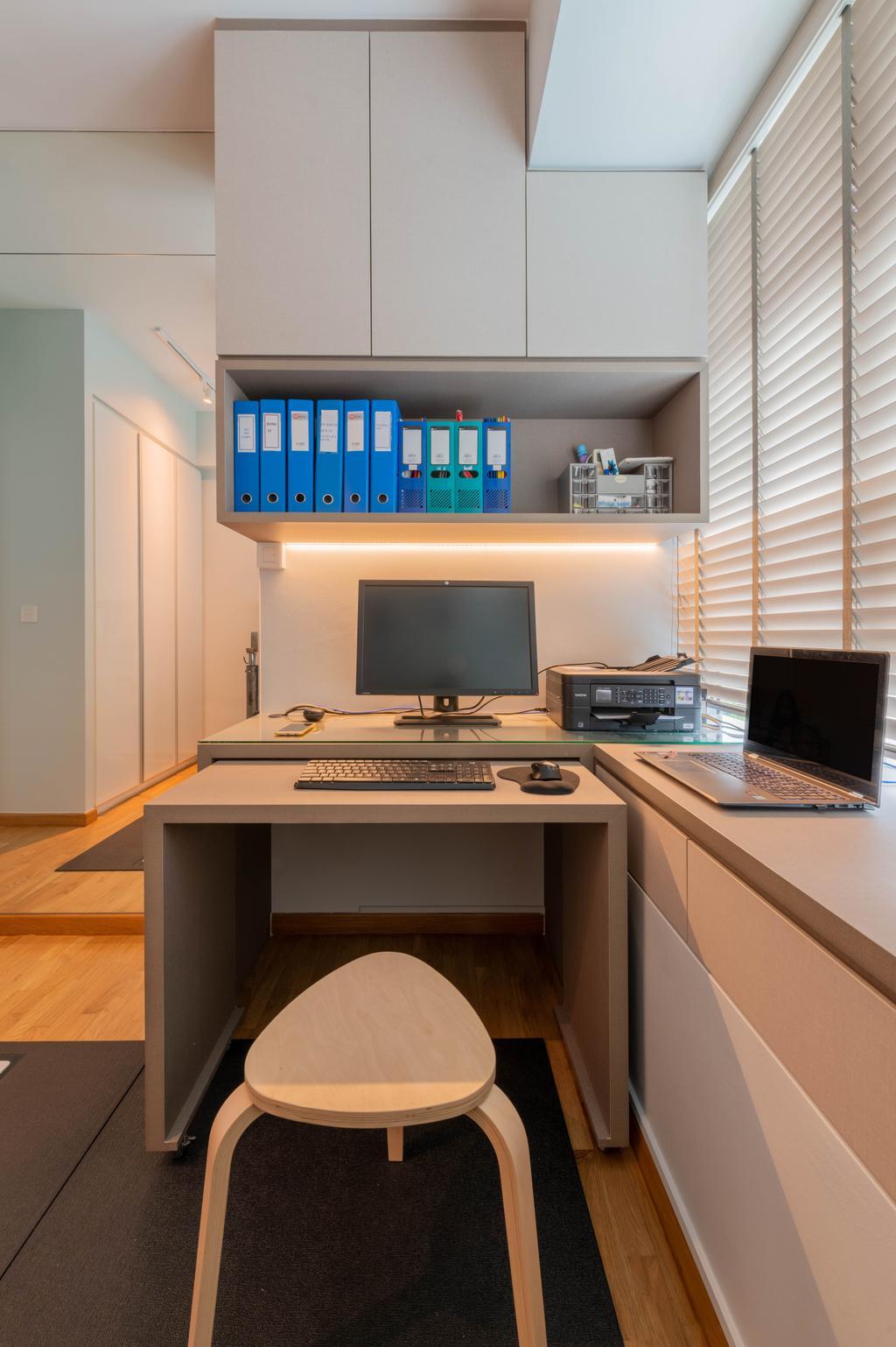 Modern, HDB, Bedroom, The Minton, Interior Designer, Metier Planner, Scandinavian