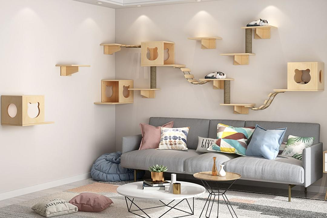 taobao cat wall shelves