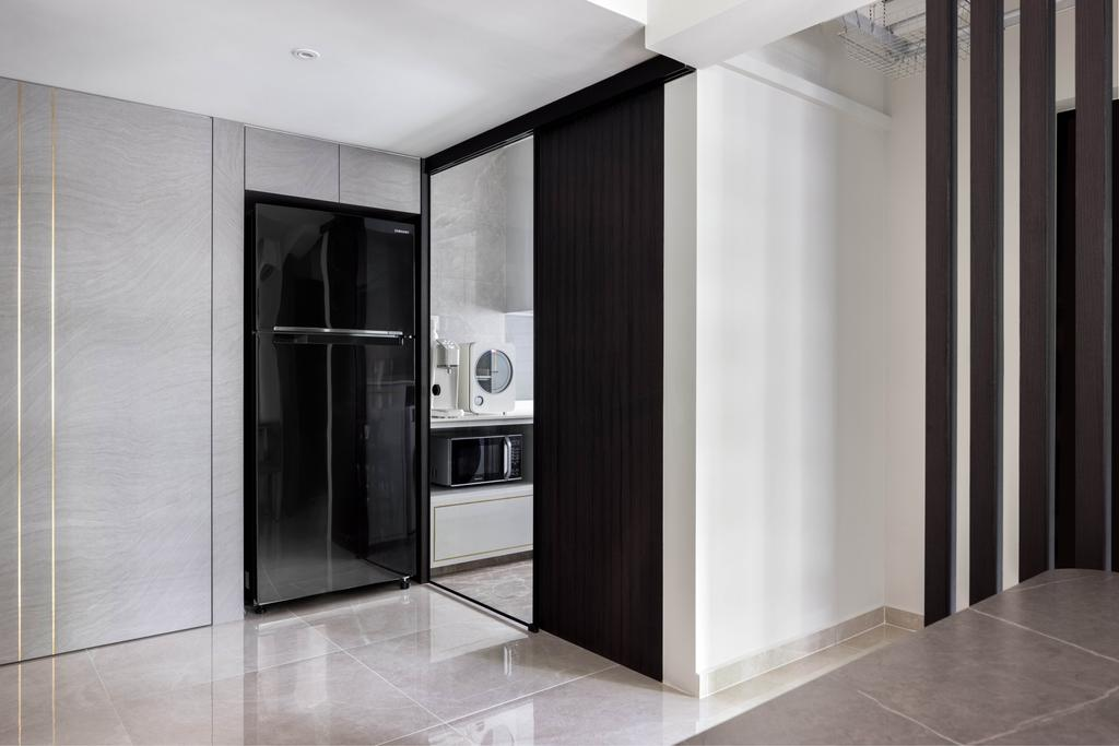 Contemporary, HDB, Kitchen, Bidadari Park Drive, Interior Designer, Jialux Interior