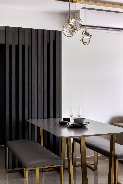 Contemporary, HDB, Dining Room, Bidadari Park Drive, Interior Designer, Jialux Interior