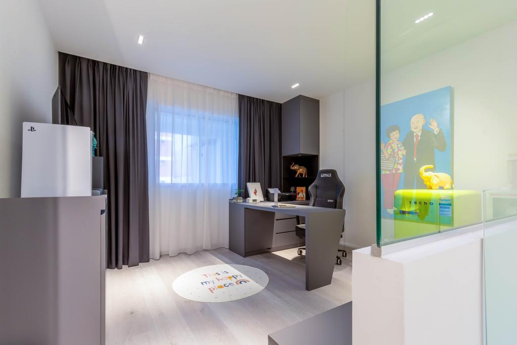 Contemporary, HDB, Study, Yishun Avenue 6, Interior Designer, EA Interior Design