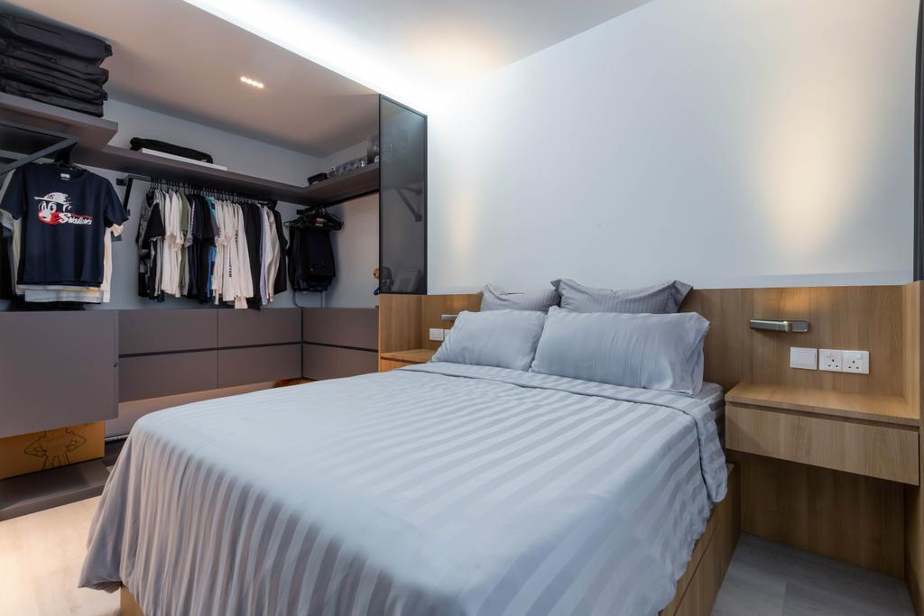 Contemporary, HDB, Bedroom, Yishun Avenue 6, Interior Designer, EA Interior Design