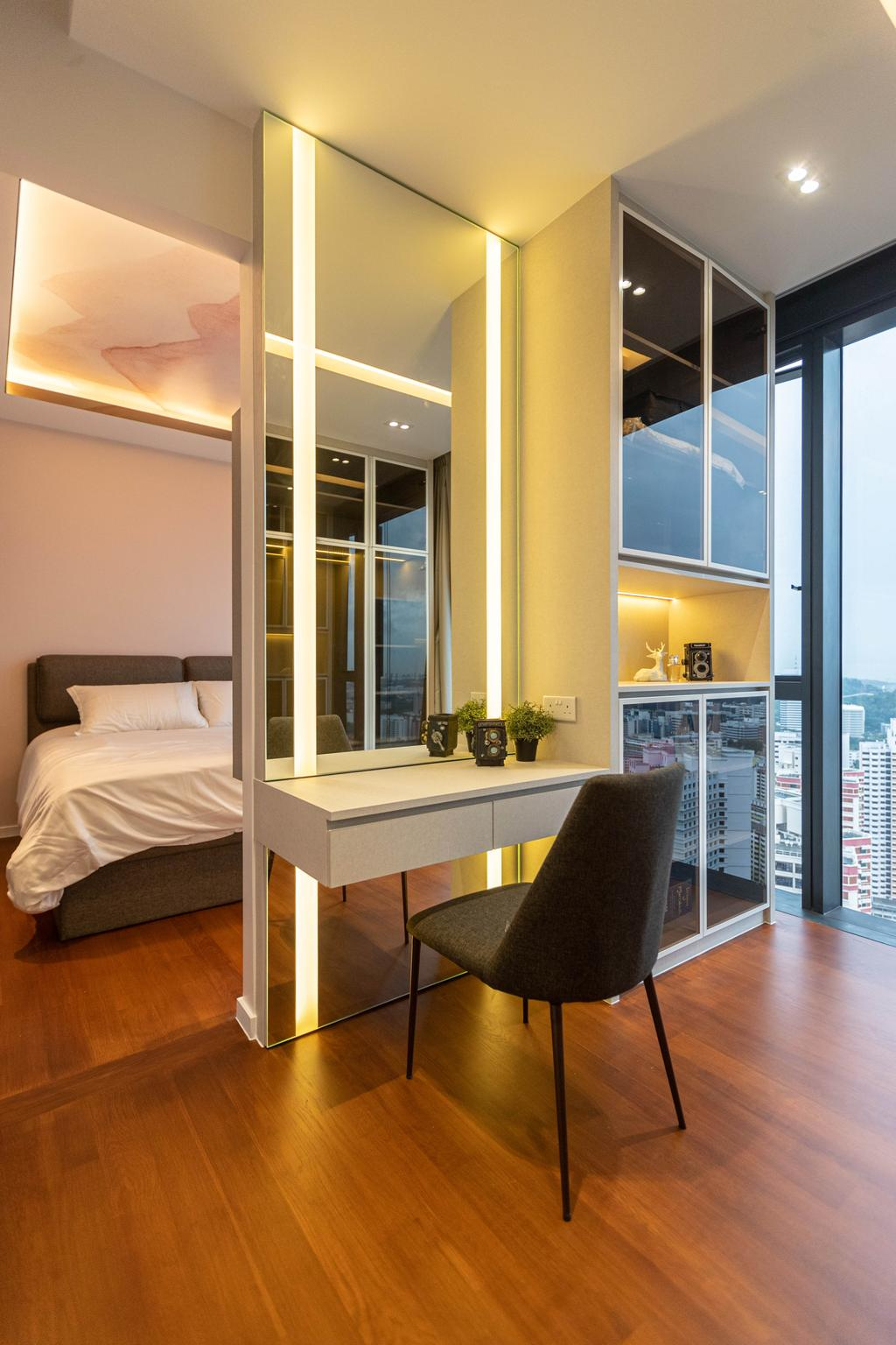 Modern, Condo, Bedroom, Artra, Interior Designer, Swiss Interior Design