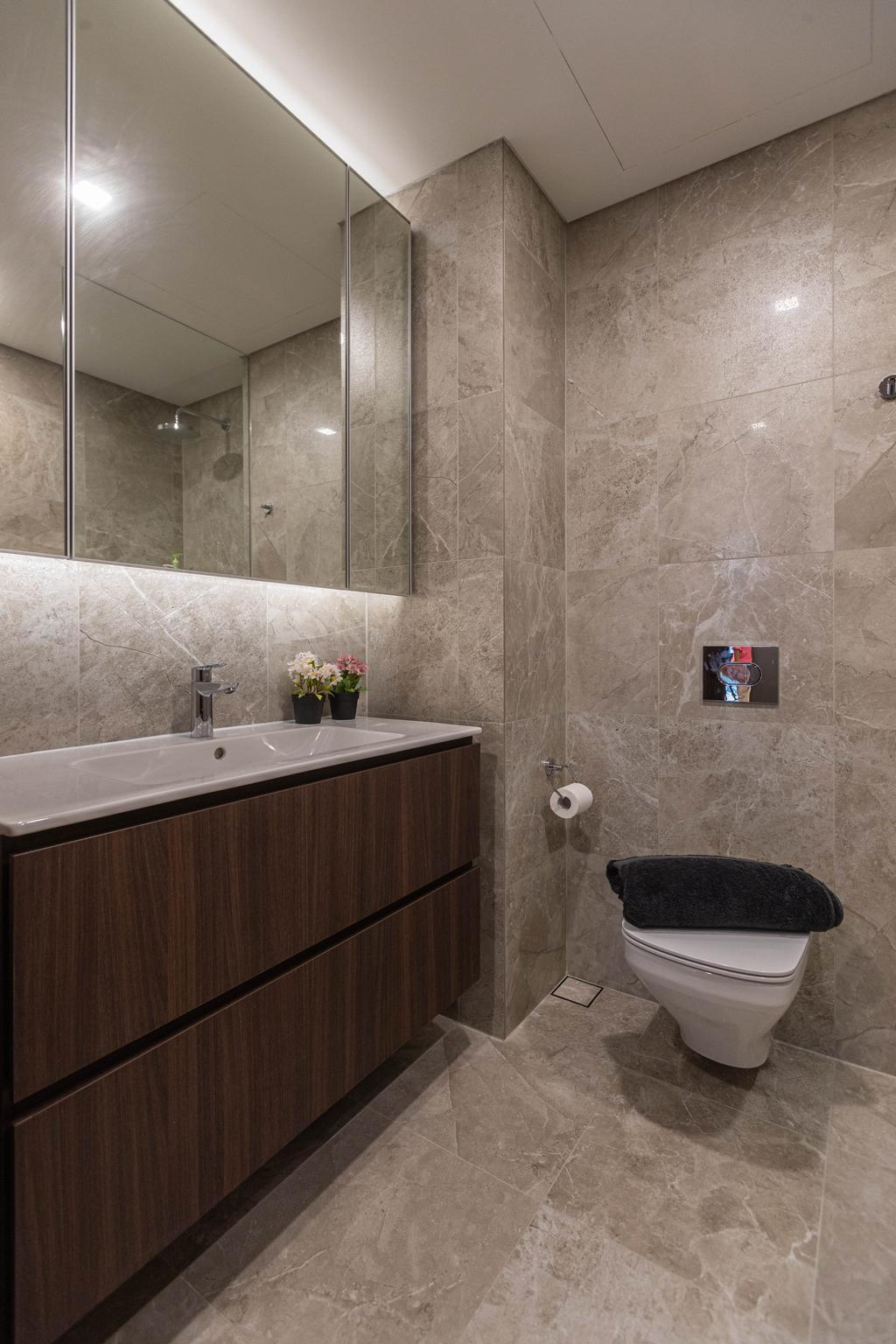 Modern, Condo, Bathroom, Artra, Interior Designer, Swiss Interior Design