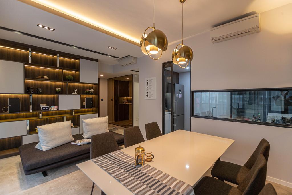 Modern, Condo, Living Room, Artra, Interior Designer, Swiss Interior Design