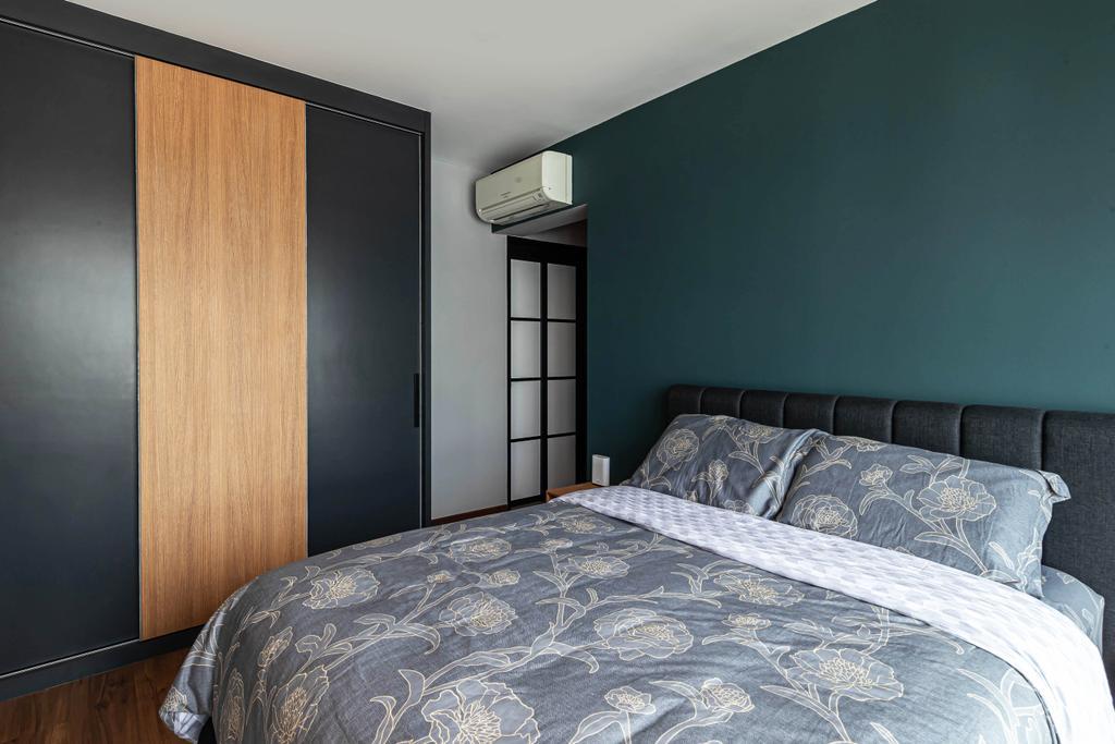 Contemporary, HDB, Bedroom, Edgefield Plains, Interior Designer, Swiss Interior Design