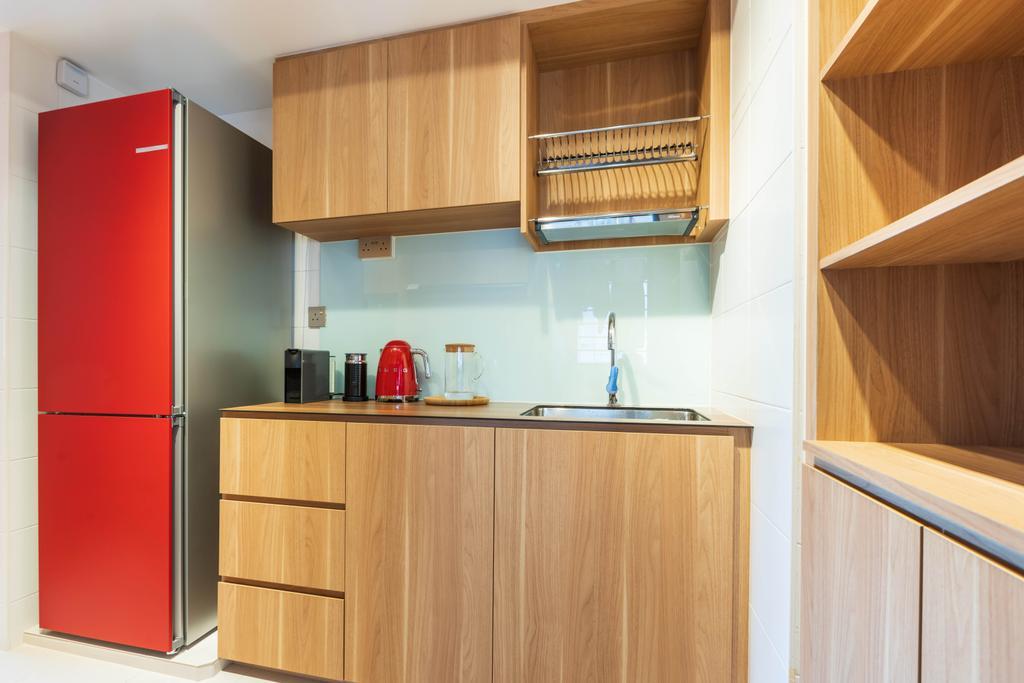 Contemporary, HDB, Kitchen, Skyterrace @ Dawson, Interior Designer, The Wooden Platform