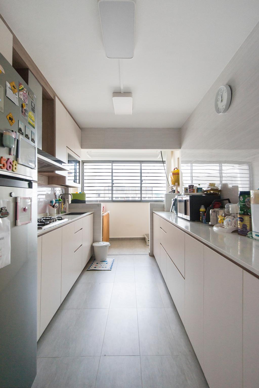 Modern, HDB, Kitchen, Yishun Street 44, Interior Designer, Flo Design